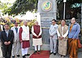 The Prime Minister, Shri Narendra Modi at the Hornbill Festival, at Kohima, in Nagaland on December 01, 2014. The Governor of Nagaland, Shri P.B. Acharya and the Chief Minister of Nagaland, Shri T.R. Zeliang are also seen.jpg