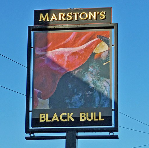 The Sign of the Black Bull, East Halton - geograph.org.uk - 1156963