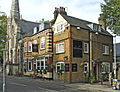 The Stag Public House with Trinity Church on the left - geograph.org.uk - 305941.jpg