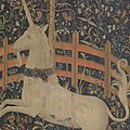 The Unicorn in Captivity (from the Unicorn Tapestries) MET DP101252.jpg