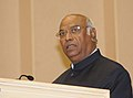 The Union Minister for Labour and Employment, Shri Mallikarjun Kharge addressing at the 'National Safety Awards (Mines) presentation ceremony, in New Delhi on November 21, 2012.jpg