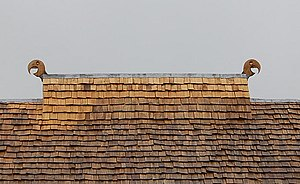 Smoke hole - Image: The Viking Long house, Ancient Technology Centre, Cranborne, Dorset geograph.org.uk 1654975