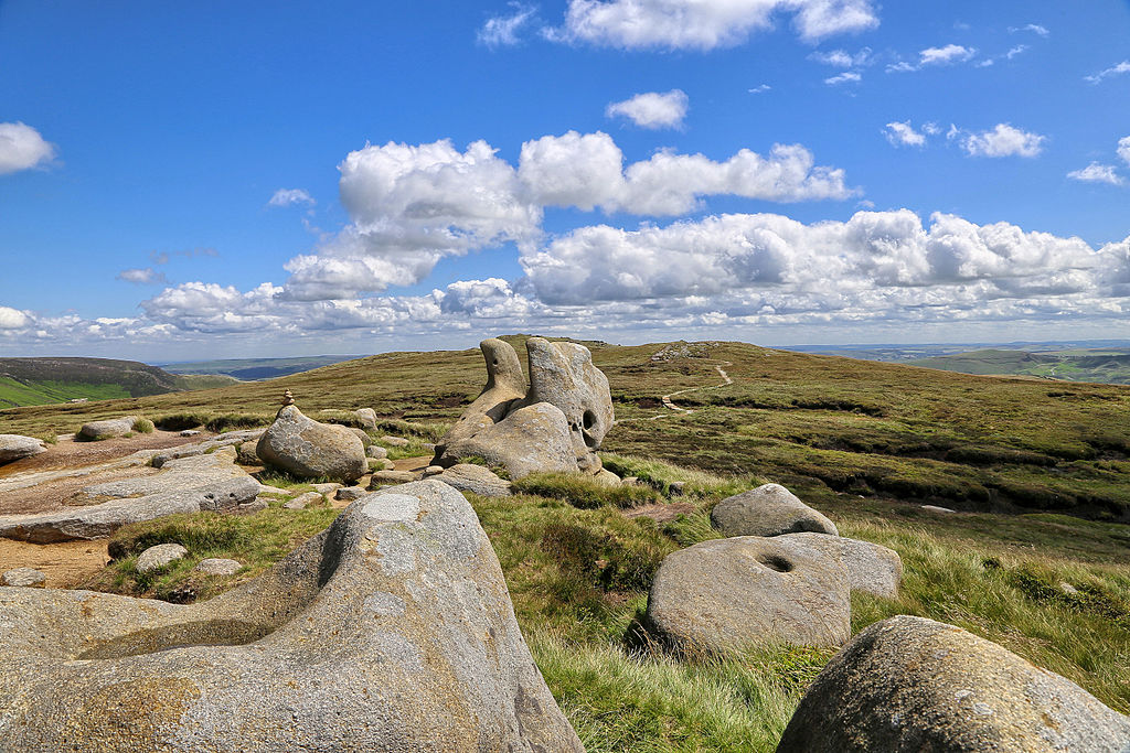 The Wool Packs Kinder Scout