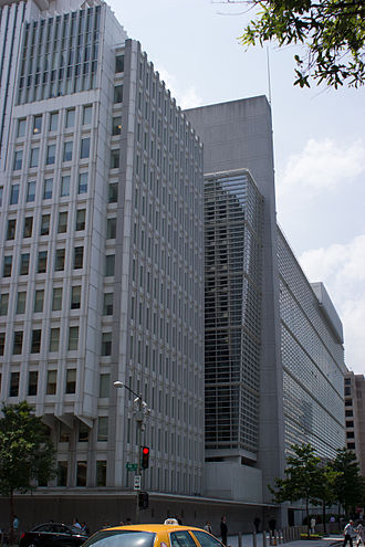 World Bank Group - The World Bank Group Building in Washington D.C.
