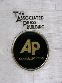 The Associated Press Building in New York City...