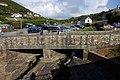 The bridge over the stream at Crackington Haven - geograph.org.uk - 1518444.jpg