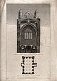 The church of St. Peter-in-the-East, Oxford; section of the Wellcome V0014253.jpg