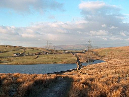 The eastern end of Clowbridge Reservoir - geograph.org.uk - 1748476