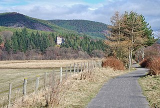 Deeside Railway Closed railway in Aberdeenshire, Scotland