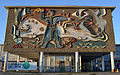 The mosaic pannel at the railway station in Elista.JPG