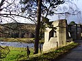 The old Findhorn Bridge has huge concrete abutments - geograph.org.uk - 623820.jpg