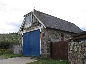 Newport, Pembrokeshire - Old lifeboat station, The Cwm
