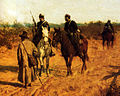 The patrol of Polish insurgents of 1863, by Maksymilian Gierymski (1872).JPG