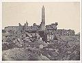 Thebes. Palais de Karnak. Sanctuaire de granit et salle Hypostyle MET DP116182.jpg
