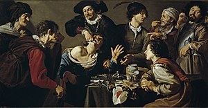 Theodoor Rombouts - The quack tooth puller