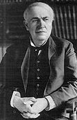 """Edison applied """"mass production"""" to the invention process."""
