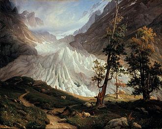Thomas Fearnley - Image: Thomas Fearnley Grindelwaldgletscher Google Art Project