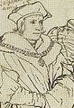 Thomas More, Detail of Study for portrait of the More family, by Hans Holbein the Younger.jpg