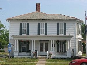 Thomas R. Marshall - Marshall's house in Columbia City