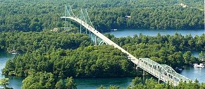Liste de ponts du canada wikip dia - Distance en milles nautiques entre 2 ports ...