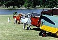 Tiger Moths at Woburn, 1989 - geograph.org.uk - 347799.jpg