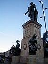 Standbeeld in neo-classicistische stijl van koning Willem II