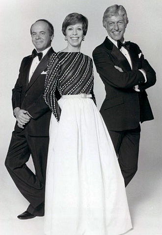 The Carol Burnett Show - From left to right: Conway, Burnett, and Dick Van Dyke in the final season