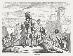 Timoleon in Syracuse, 344 BC, publ. 1882.jpg