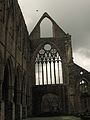 Tintern Abbey from the inside - front wall.JPG