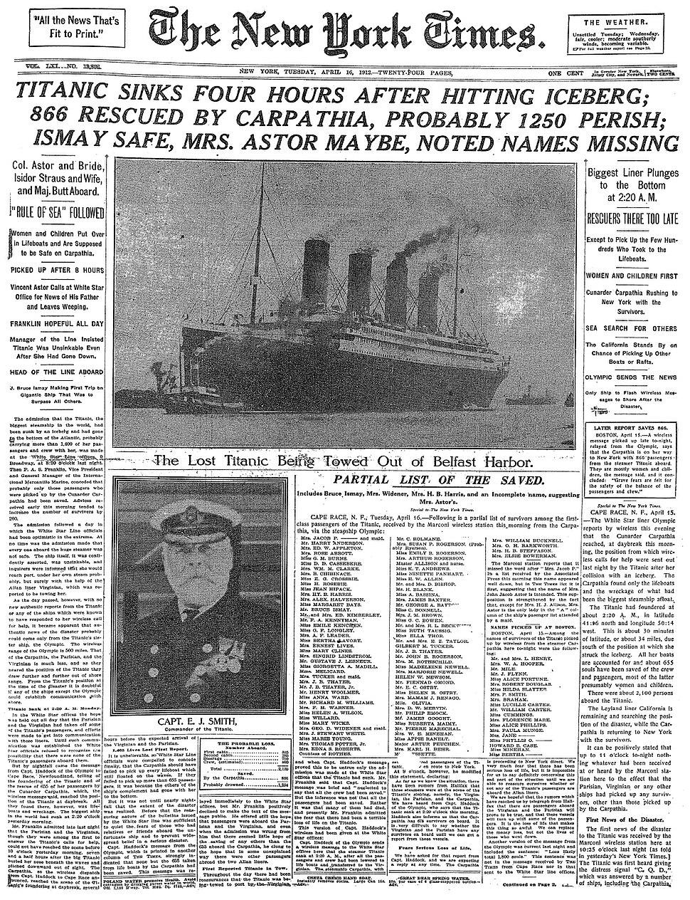 Titanic-NYT