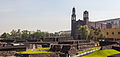 Tlatelolco e iglesia de Santiago Tlatelolco, México D.F., México, 2013-10-16, DD 25.JPG