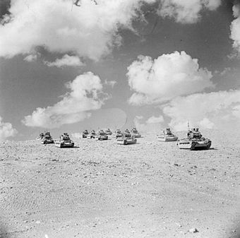 Matilda tanks at Tobruk, September 1941 Tobruk 1941 - British Matilda tanks.jpg