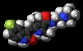 Toceranib molecule spacefill.png