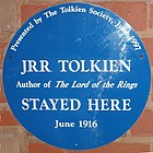 Tolkien's Plough and Harrow blue plaque.jpg