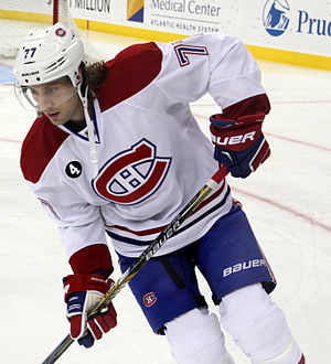 Tom Gilbert - Gilbert with the Montreal Canadiens in January 2015