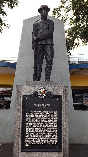 Morong, Rizal - Tomas Claudio Monument