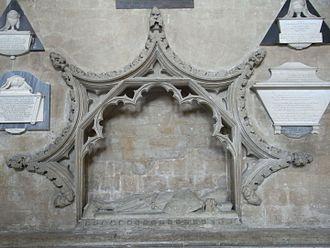 Maurice de Berkeley, 2nd Baron Berkeley - Full-view of monument