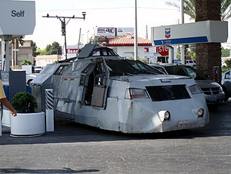 Storm Chasers (TV series) - An early version of the Tornado Intercept Vehicle (TIV).
