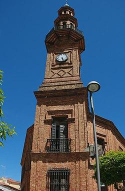 Torre del ayuntamiento de Nerva (Huelva).jpg
