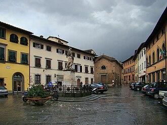San Miniato - Piazza Buonaparte.