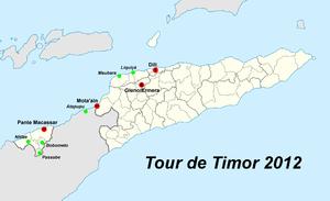 Tour De Timor Results