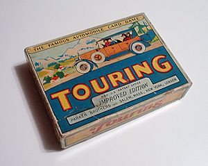 Touring (card game) - Image: Touring Parker Brothers