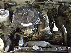 Toyota A engine - Toyota 4A-C Engine in a 1987 AE86 SR5 Corolla.
