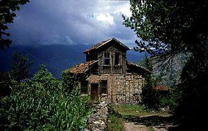 Maçka - Image: Trabzonhouse