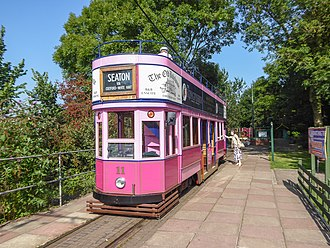 Colyton, Devon - Seaton Tramway at Kingsdon