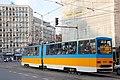 Tram in Sofia near Macedonia place 2012 PD 079.jpg