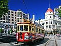 Trams Christchurch and Regent Theatre.jpg