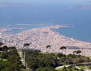 Trapani Comune in Sicily, Italy