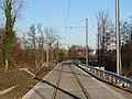 Travaux de la branche vers Vieux-Condé de la ligne B du tramway de Valenciennes en décembre 2013 (297).JPG