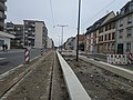 Travaux tram Strasbourg-Koenigshoffen (2019), station Comtes 02.jpg